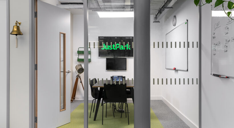 The JustPark office